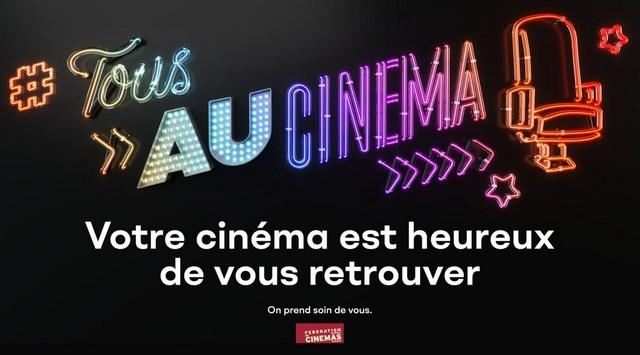 bientôt la réouverture du cinéma, on vous attend.