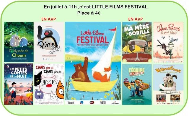 En juillet, Little Films Festival